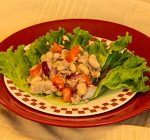 Salads provide quick nutrition for snacks or meals