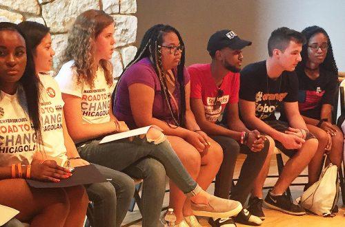 Parkland kids hit the road, bring gun reform demands to Naperville