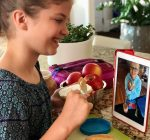 PRIME TIME WITH KIDS: FaceTime cooking with school friends