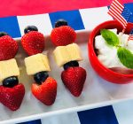 PRIME TIME WITH KIDS: Mini strawberry shortcake on a stick for the Fourth