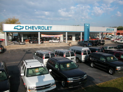 Charming Green Chevrolet In Peoria Was One Of Several Auto Dealerships Jeff Green  Owned In The Area.