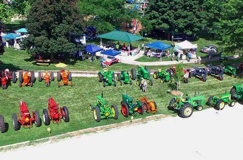 Tractors, trucks and old-fashioned fun at Waterman Summerfest