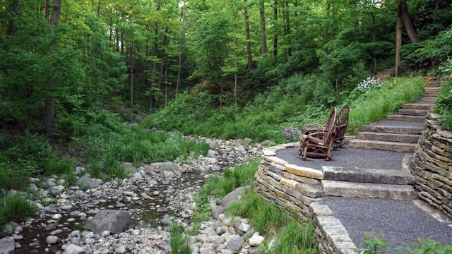 Tours of restored Mayflower Ravine in Lake Forest include garden ...