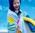 PRIME TIME WITH KIDS: 'Sew easy' hooded bath and swim towel