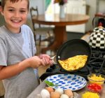 PRIME TIME WITH KIDS: Make basic cheese omelets with kids