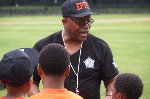 Police baseball program in Englewood neighborhood teaches life skills