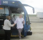 Pace opens one of a kind station at Jane Addams Tollway