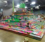 Bernie's Book Bank earns Guinness Record for book pyramid