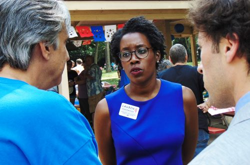 Underwood maintains brisk pace as she challenges Hultgren for Congress