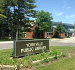 Yorkville Library silent auction raises funds for mural