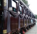 Replica Lincoln funeral train car hosted In Antioch