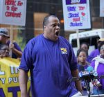 Chicago bus aides, custodians get support in contract fight