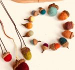 PRIME TIME WITH KIDS: Craft-felted autumn acorns