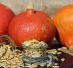 After you've carved the pumpkin, save those seeds