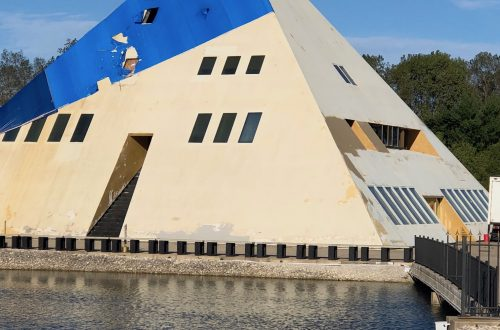 Pyramid house in Lake County will rise from the ashes