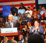 Obama rallies in Chicago; credits Democrats with economic success