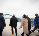 Pedestrian, bike bridge opens on Chicago's South Side