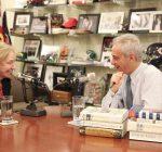 Historian Kearns Goodwin, Mayor Emanuel talk leadership, service