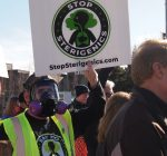 Neighbors of Sterigenics plant in Willowbrook take to the streets