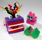 "DONNA'S DAY: Box Puppet ""Play"" in 3 Easy Steps"