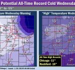 Police, IDOT say stay in as record deep freeze remains through Thursday