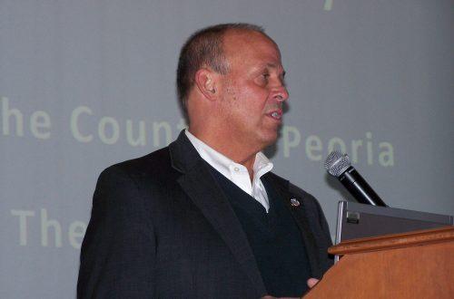 Motor fuel, online sales taxes top Peoria legislative wish list