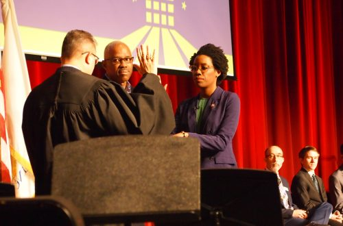 Congresswoman Underwood goes home to Naperville for swearing-in