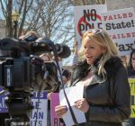 Stormy Daniels makes brief Illinois Capitol appearance over 'sin tax'