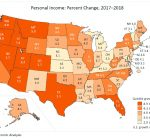 Illinois personal income grows 4.5 percent in 2018