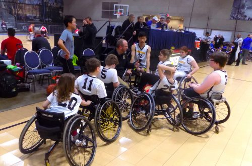 Peoria area youth wheelchair team helps kids grow as athletes