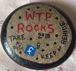 WTP Rocks mission aims at kindness and bringing smiles to people's faces