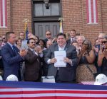 Pritzker hails infrastructure bill as historic 'job creation plan'