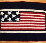 Octogenarian continues to crochet 'lapghans' for Honor Flights