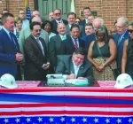 Pritzker signs bills doubling line-of-duty death benefits, addressing human trafficking