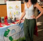 Food sustainability intern works to promote Green Campaign