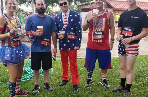 Patriotic flavor highlights Peoria Jaycees' Firecracker 5000 run