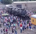 Big Boy steam locomotive brings memories on its journey