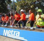 Officials, community kick off work on new Auburn Park Metra Station