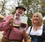 People have a barrel of fun at Long Grove Oktoberfest