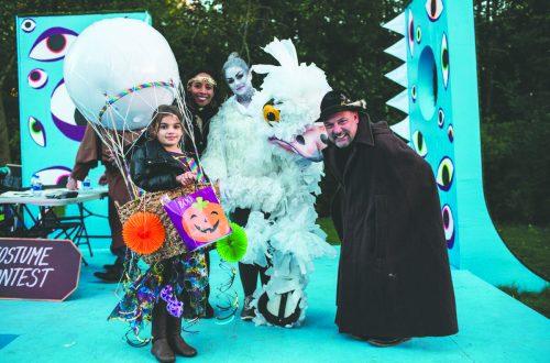 Artists, again, skew Halloween landscape at Ragdale event
