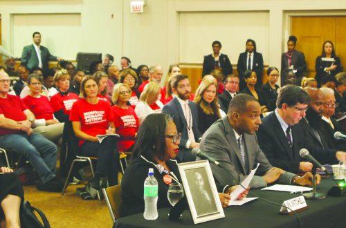 Congressional reps hear ideas to curb gun violence