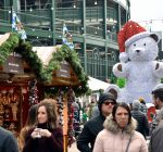 Christmas comes to Wrigleyville