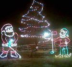 Lankford lighted holiday display is a hidden gem