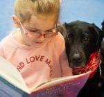 Maryville first-graders enjoy reading to man's best friend