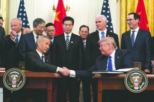 R.F.D. NEWS & VIEWS: China 'phase one' trade deal reached; will tariffs remain?