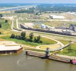 Granite City Harbor is first  Illinois Freight project completed