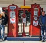 Vintage gas station equipment gets new life at Hampshire's Gaspump Garage