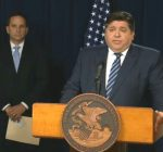 As coronavirus deaths climb, Pritzker says grocery stores, interstates 'will never' shut down