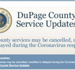 Coronavirus forces DuPage County to reduce, shut down some services