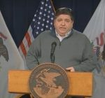 Pritzker gives update on hospital capacity as state reports largest one-day spike in deaths